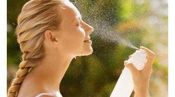 Термальная вода - освежите лицо летом!